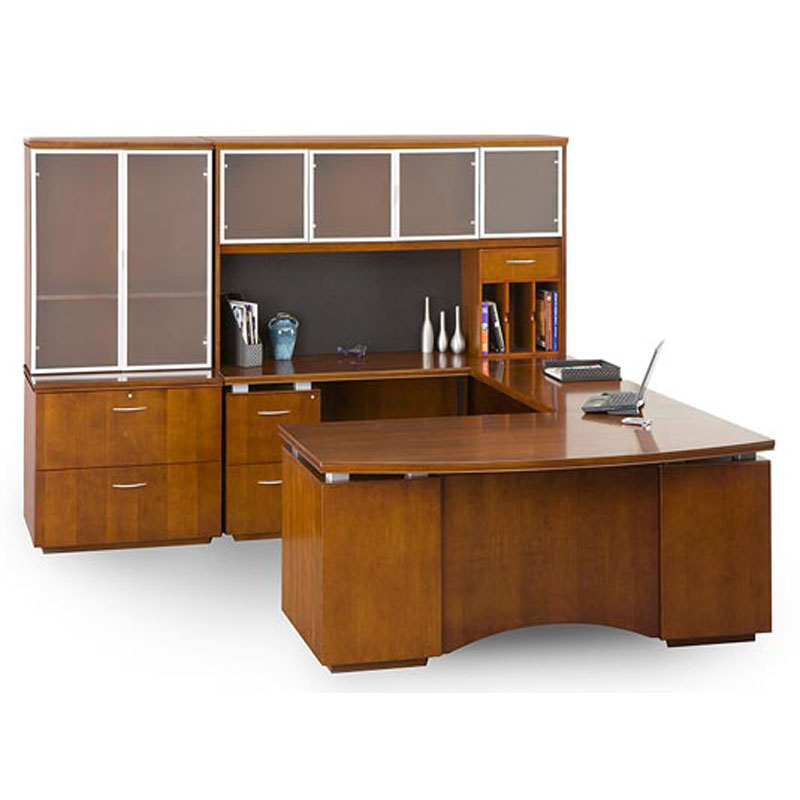 Wood Office Desks Images