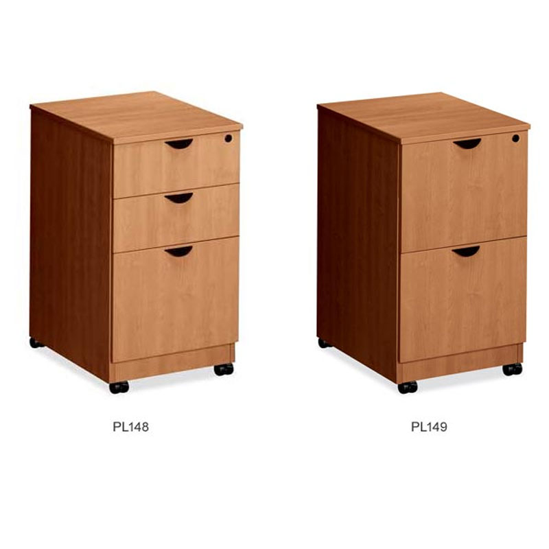 dallas office furniture laminate mobile pedastals new