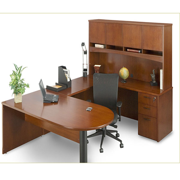 Dallas Office Furniture Wood Desk Set New amp Used
