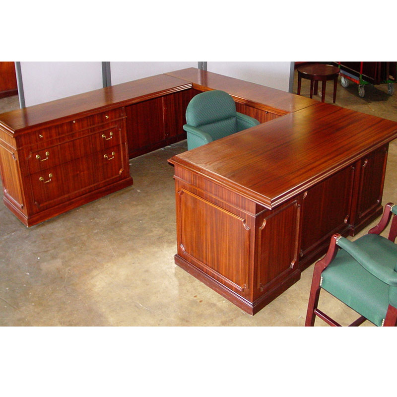 Stupendous Dallas Office Furniture Traditional Wood Desk Set New Home Interior And Landscaping Synyenasavecom