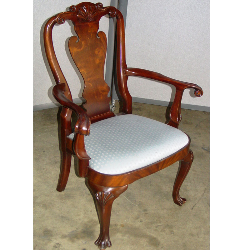 dallas office furniture | traditional wood guest chair | new & used