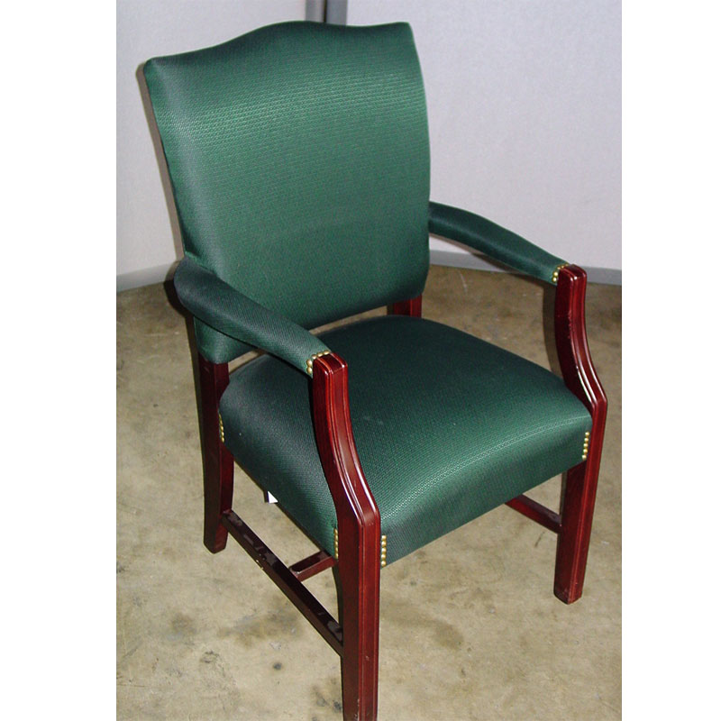 Used Office Furniture Wooden ~ Dallas office furniture traditional wood guest chair