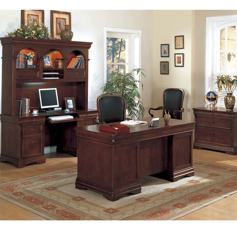 Dallas Office Furniture | Executive Desk Set | Small Office or Home